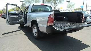 2006 Toyota Tacoma Regular Cab - Pickup 2D 6 ft Phoenix AZ 620775 videos