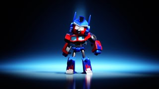 Angry Birds Transformers - Optimus Prime
