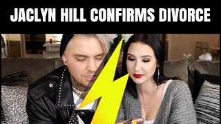 JACLYN HILL CONFIRMS DIVORCE