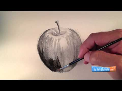 How to Draw with Water-Soluble Graphite