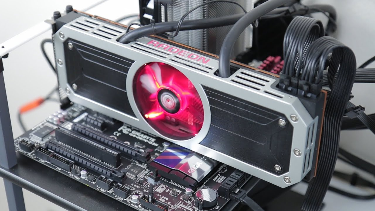 Ready for 4K? AMD Radeon R9 295X2 Review - YouTube