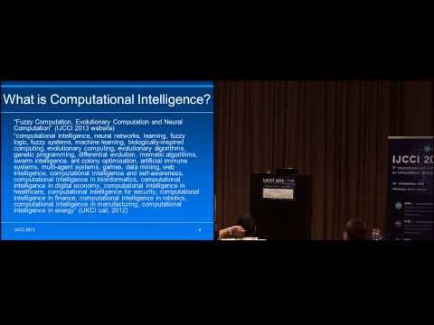 """Putting Intelligence into Computational Intelligence"" Dr. Leslie Smith (IJCCI 2013)"
