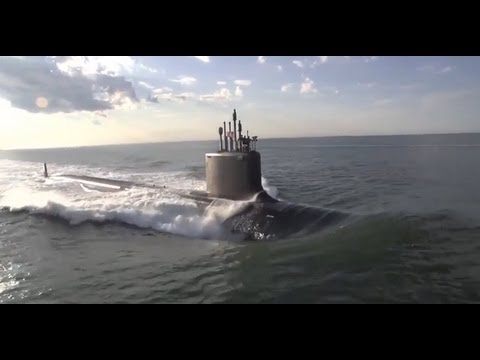 U.S. Navy take delivery of new Submarine - PCU Minnesota (SSN 783)