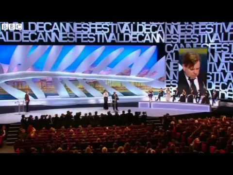 BBC News   Cannes Film Festival  Timothy Spall scoops best actor prize