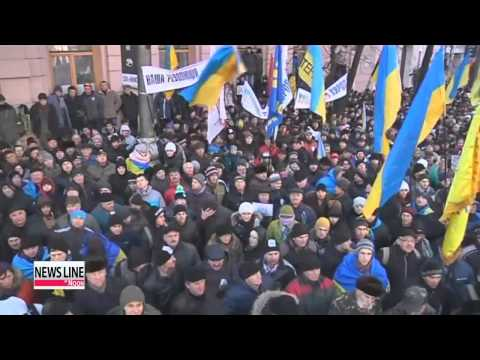 Former Ukrainian presidents support anti-government protests