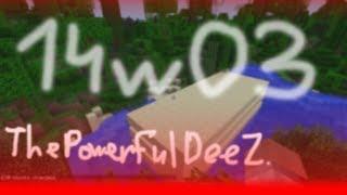 Обзор обновлений Minecraft 1.8 (14w03a) - Игровое видео