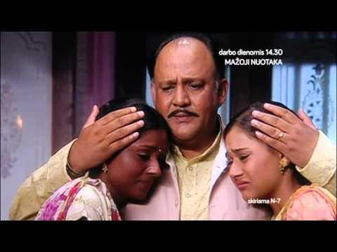 Mažoji nuotaka (Sapna Babul Ka.... Bidaai) @ TV mini serialas (2007) WEB anonsas