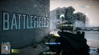 Battlefield 3 - Grand Bazaar TDM...So much fail