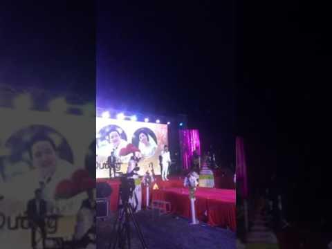 Ca sĩ Lương Gia Huy hát mừng đám cưới Văn Dưỡng - Thúy Diễm (sau bài gọi đò Dương Ngọc Thái)