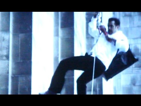 Salman Khan Kick Movie Stunt Behind The Scene