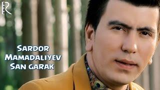 Превью из музыкального клипа Сардор Мамадалиев - Сан гарак