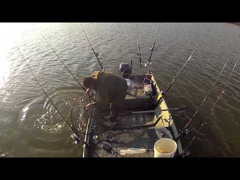 743 pounds of Blue Catfish in 4 hours - SOLO (James River, VA)