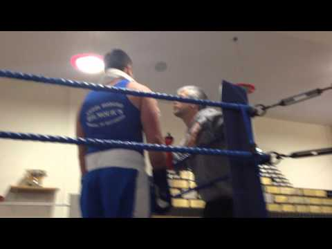 Oliver Didcott Trostre Boxing Club NewCastle emlyn 28th feb 2014