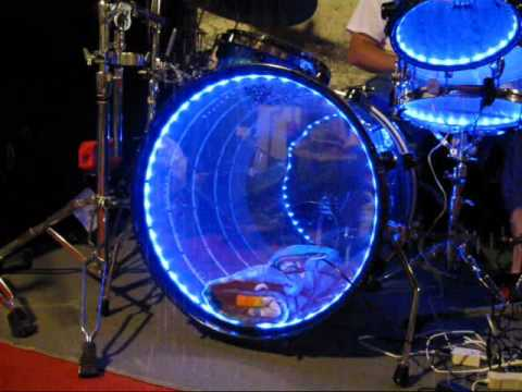 Led drum lights