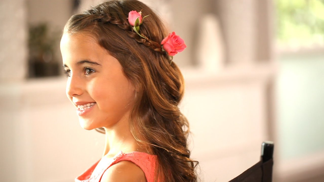 Wedding Hairstyles for 10 Year Old Girl