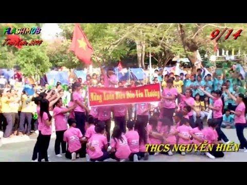 FLASHMOB TRẠI XUÂN 2014 - THCS Nguyễn Hiền Q12