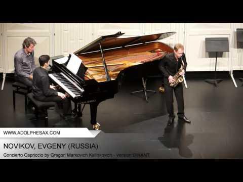 Dinant2014 NOVIKOV Evgeny Concierto Capriccio by Gregori Markovich Kalinkovich Version DINANT
