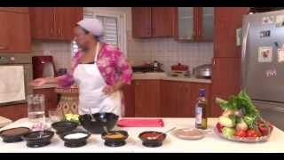 Ethiopian cuisine- ye timatim fitfit