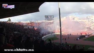 بالفيديو..رغم الهزيمة في الديربي البيضاوي أمام الرجاء الجماهير الودادية تُبدع في المدرجات |
