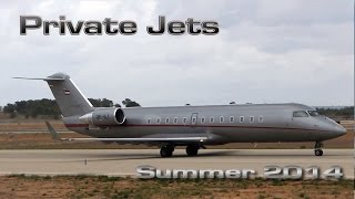 Private Jets Summer 2014