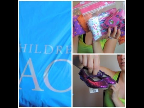 0 Kids Clothing Haul   The Childrens Place / Walmart   VEDA DAY 3 (August 3rd, 2013)