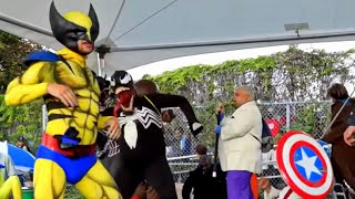 Drunk And Fat Superheroes Dance Like Crazy