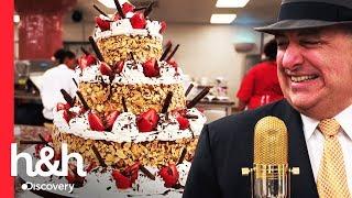 Un pastel para el aniversario de Frank Sinatra | Cake Boss | Discovery H&H