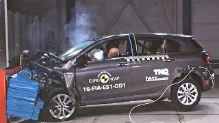 2016 Fiat Tipo CRASH TESTS Euro NCAP. YouCar Car Reviews.