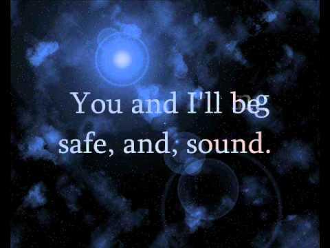 Safe and Sound (Cover) - Julia Sheer (Lyrics)