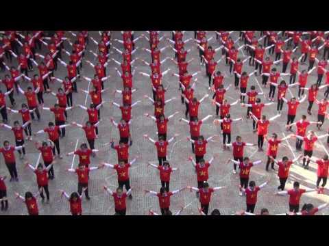Nhảy Dân Vũ : Nối Vòng Tay Lớn - Trường Tiểu Học Đinh Tiên Hoàng - TP Hải Phòng