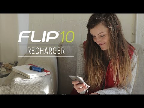 Goal Zero Flip 10 Recharger (Bushfire Red)