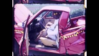 Toyota Hilux Pickup 1982 Rear Crash Test NHTSA
