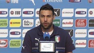 """Sirigu: """"Buffon resta il titolare"""" - Mondiali 2014"""