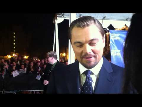 Leonardo DeCaprio interview at Santa Barbara International Film Festival 2014