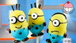 Recipe | Despicable Me 2 Cake pops! Make Minions Cakepops A Cupcake Addiction How To Tutorial | Despicable Me 2 Cake pops! Make Minions Cakepops A Cupcake Addiction How To Tutorial