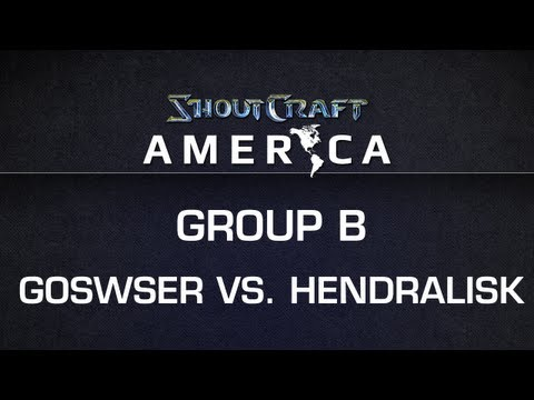 ShoutCraft America - Group B - Mill.Goswser vs. coL_Hendralisk BO3