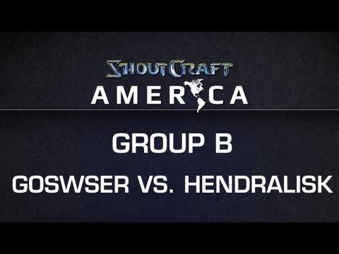 ShoutCraft America - Group B - Mill.Goswser vs. coL_Hendralisk BO3