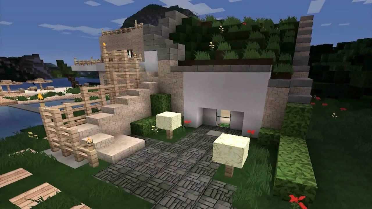 Minecraft modern house 3 modernes haus hd youtube for Minecraft modernes haus