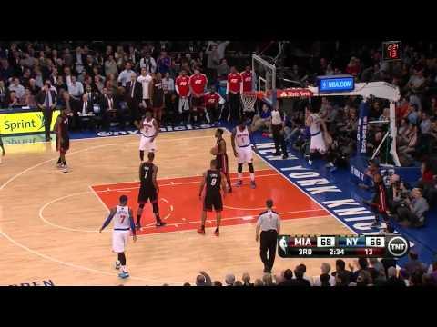 Andrea Bargnani vs Miami Heat / Jan. 9th, 2014