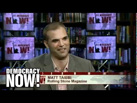 "Matt Taibbi: ""Is the SEC Covering Up Wall Street Crimes?"" (Democracy Now! Interview)"