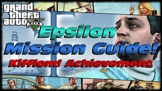 GTA 5 Epsilon Complete Story Mission Guide! How To Get The