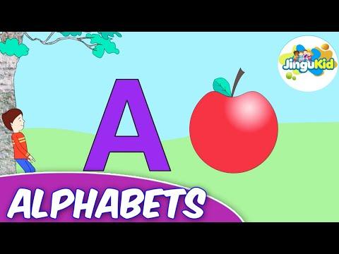 learn alphabets – kidsrhymeschool