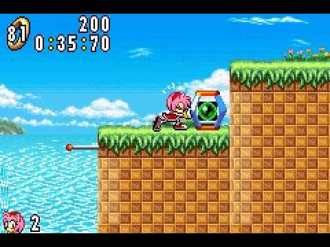 Sonic Advance - Game Boy Advance - User video
