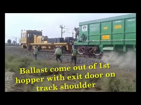 Trial Run of Top Ballasting with ballast Hopper