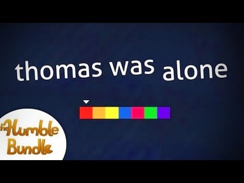 thomas was alone, A very unique game played by a very unique gamer!