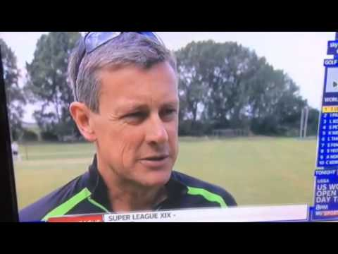 Ashley Giles interview at Nuneaton Cricket Club