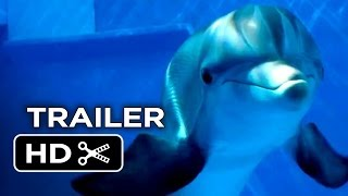 Dolphin Tale 2 Official Trailer #2 (2014) - Morgan Freeman, Harry Connick Jr. Dolphin Movie HD