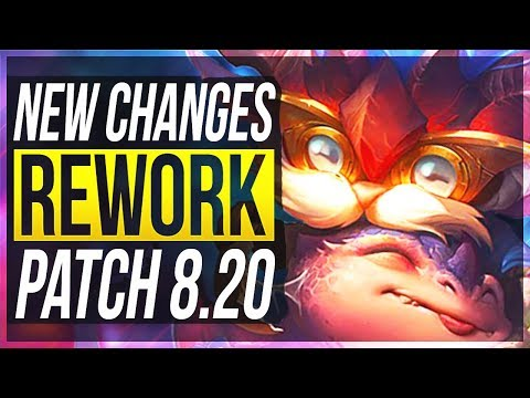 EZREAL REWORK IS HERE & MORE!!! NEW BIG CHANGES & OP CHAMPS Patch 8.20 - League of Legends