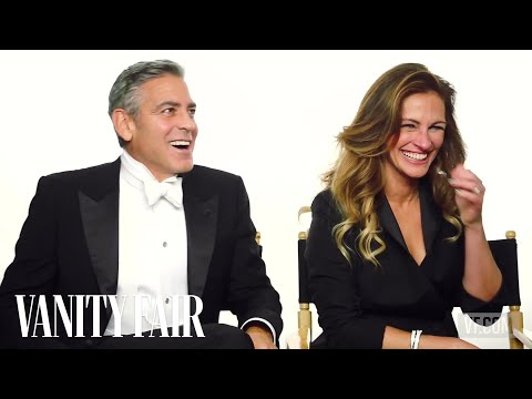 Talking to George Clooney and Julia Roberts Behind the Scenes of our Hollywood Issue Cover Shoot