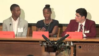 YCDC-MDAI Student Panel's Advice (5 min):